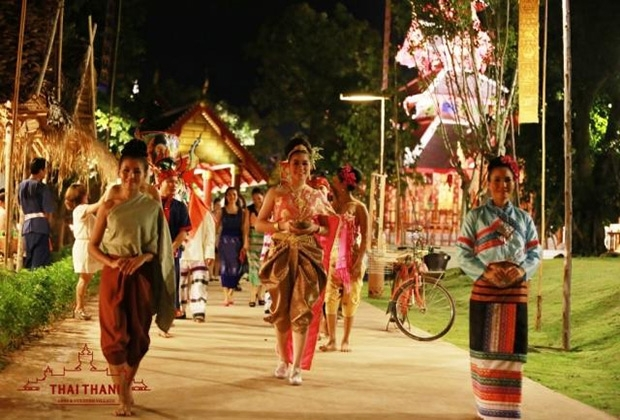 Thaithani Arts And Culture Village Pattaya Is A New Unique Tourist Attraction Displaying The Traditions History Of Thailand