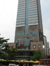 The Silom Galleria is located in the Jewelry Trade Center on Silom Road in Bangkok. The Silom Galleria is in the building's lower plaza.