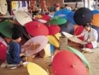 Borsang umbrella and Thai handicraft village