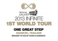 2013 Infinite 1st World Tour 'One Great Step' In Bangkok